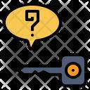 Solution Clarification Explication Icon