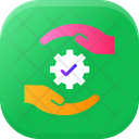 Solution Protection Safety Icon