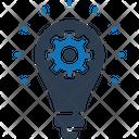 Solution Problem Solve Brainstorming Icon