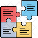Graph Jigsaw Puzzle Icon