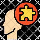 Jigsaw Brain Thing Icon