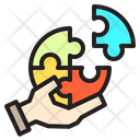 Earth Process Jigsaw Icon