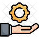 Solution Customer Support Icon