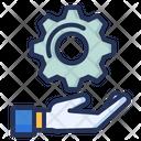 Solution Gear Cogwheel Icon