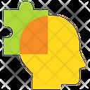 Solution Puzzle Head Icon