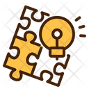 Solution Jigsaw Puzzle Icon