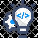 Solution Coding Solution Code Idea Icon
