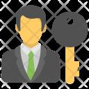 Solution Provider Key Icon