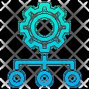 Setting Maintenance Cog Wheel Icon