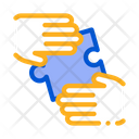 Hands Puzzle Contract Icon