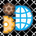 Solving Planet Icon