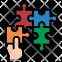 Jigsaw Game Hobbies Icon