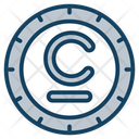 Som Coin Currency Coin Icon