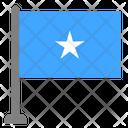 Flag Country Somalia Icon