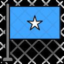 Somalia Country Flag Flag Icon