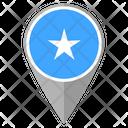 Somalia Country Location Location Icon