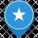 Somalia Flag World Icon