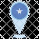 Somalia Location Icon