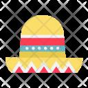Sombrero hat Icon