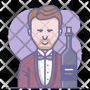 Bottle Cabinet Sommelier Icon