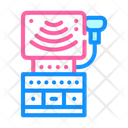 Ultrasound Equipment Color Icon