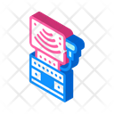 Ultrasound Equipment Isometric Icon