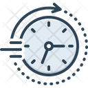 Soon Time Clock Icon