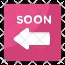 Soon Arrow Emoji Icon