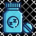 Soporific Pill Sleeping Pills Icon