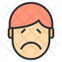 Sorrow Emotion Face Icon