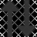 Sort Arrows Descending Icon