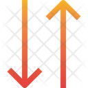 Sort Transaction Transfer Data Icon