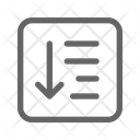 Sort List Order Icon