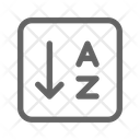 Sort Alphabet Order Icon