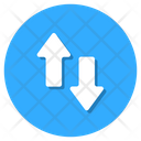 Sort Ascending Arrow Data Transfer Icon