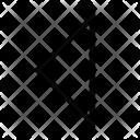 Sort Left Arrow Icon