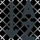 Sort Alphabetical Alphabet Icon