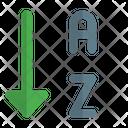 Sort Alphabet Icon