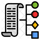 Sorting Data Grouping Icon