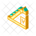 Sorting Isometric Color Icon