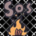 Sos Fire Sos Fire Icon