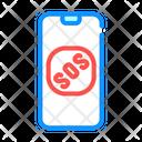 Sos Problem Sos Smartphone Icon
