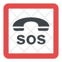 SOS Sign Icon