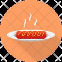 Sossis Restaurant Concept Icon
