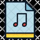 File Sound Music Icon