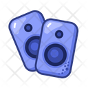 Loudspeakers Party Fun Icon