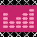 Multimedia Flat Sound Digital Icon
