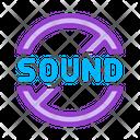Sound Ban Icon