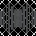 Sound Bars Sond Audio Lines Icon