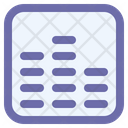 Sound Bars Voice Icon